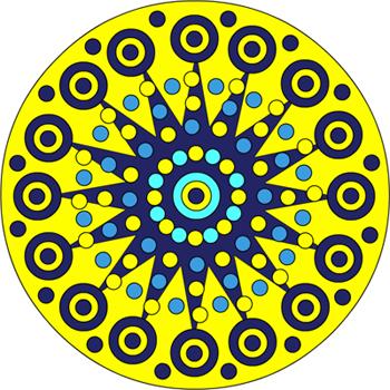 Mandala soleil 2